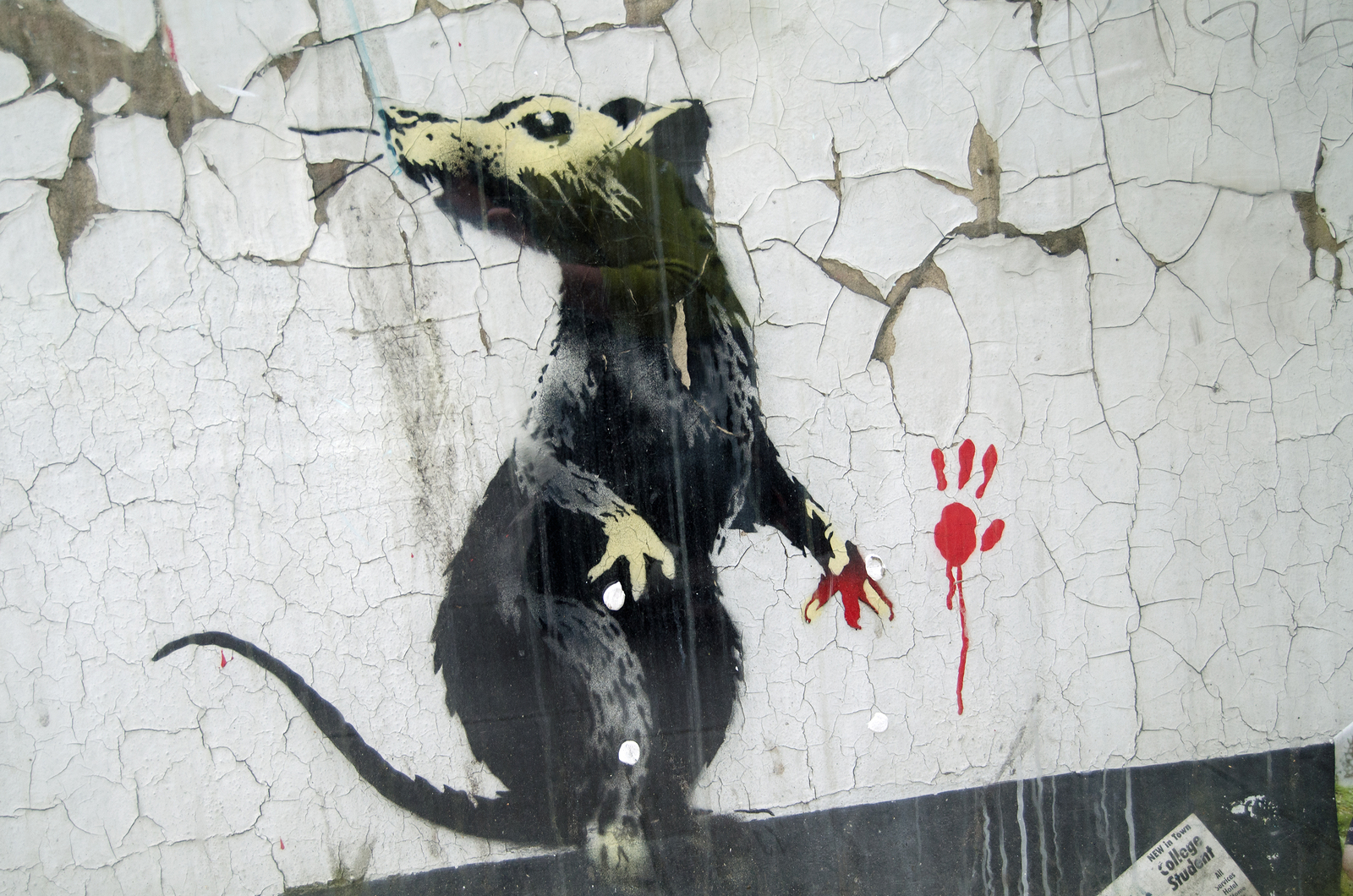 Banksy — The Most Wanted Street Artist in the World