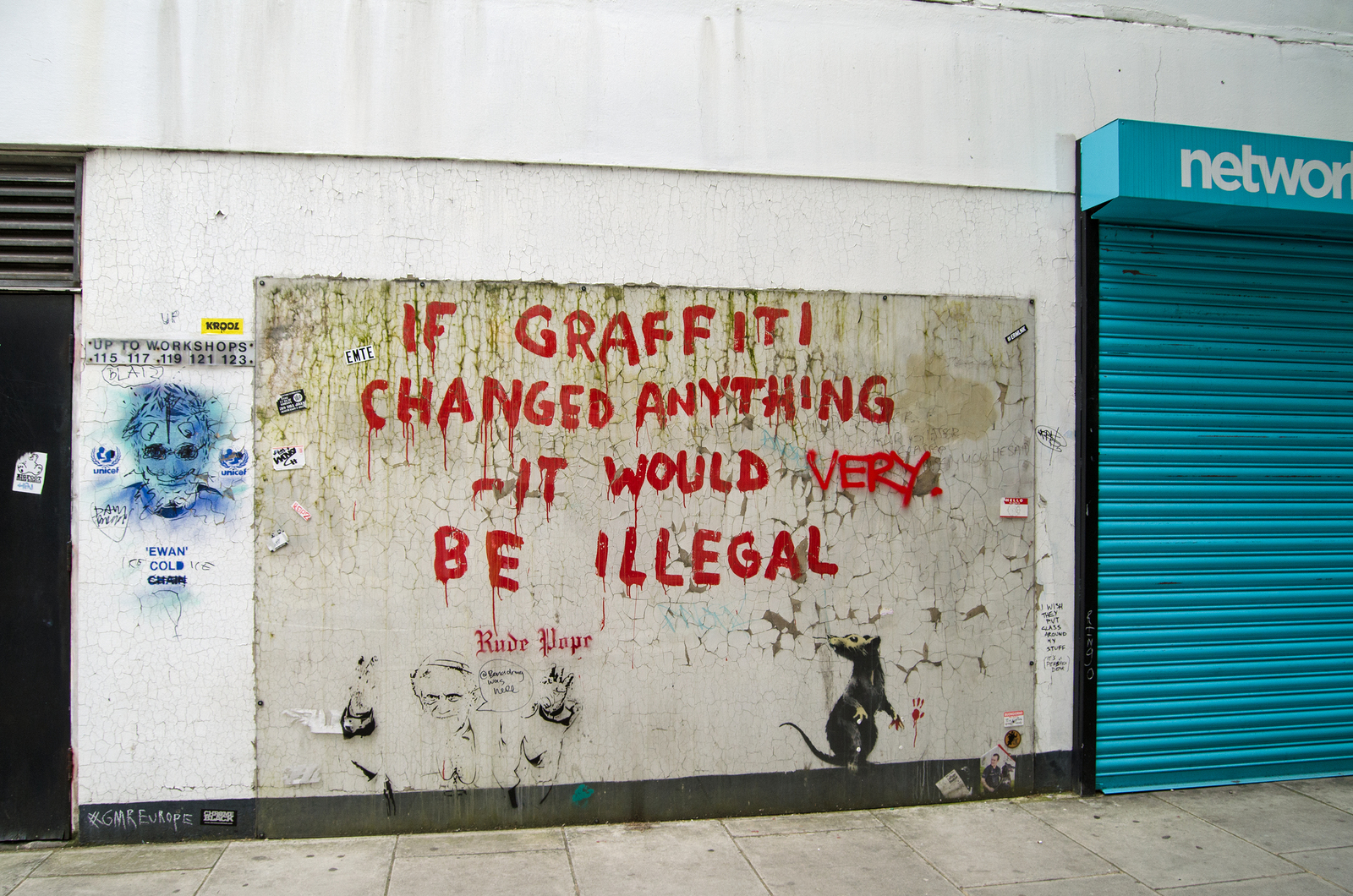 Legality of Banksy: Does the Famous Street Artist Break the Law?