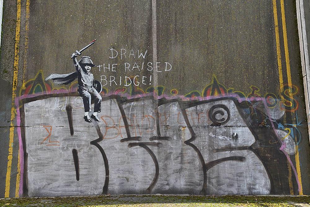 5 Life Lessons Banksy Teaches People Through Graffiti Artworks