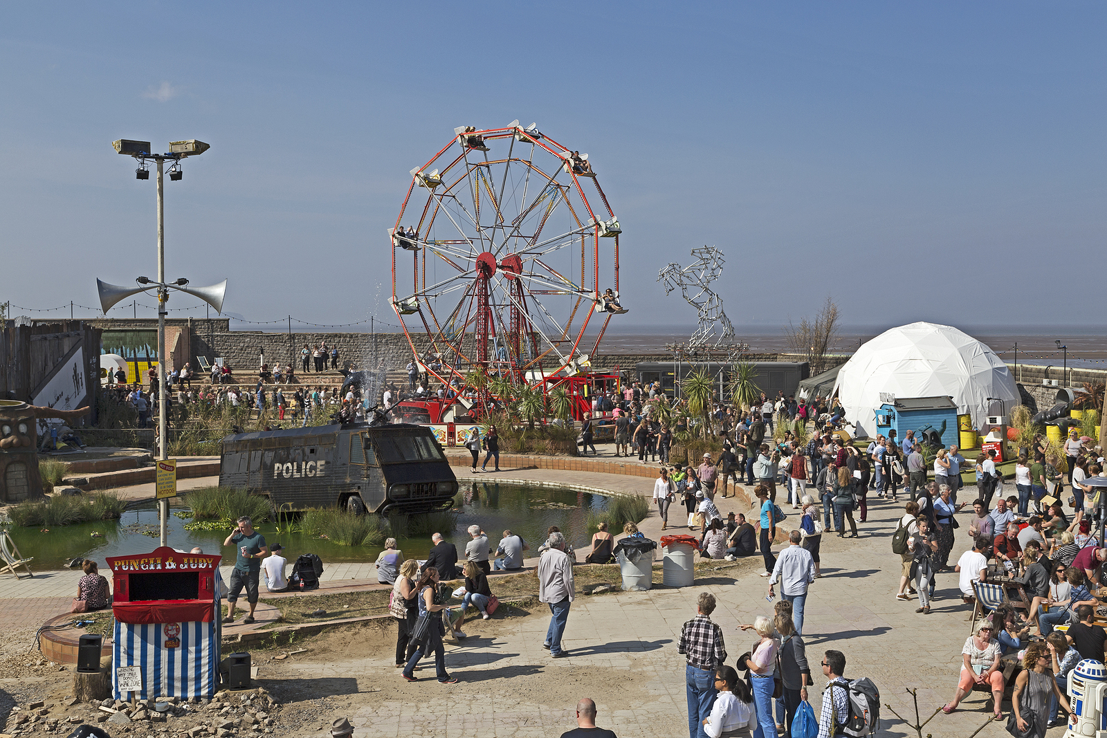 Dismaland — The Most Large-Scale Art Project by Banksy