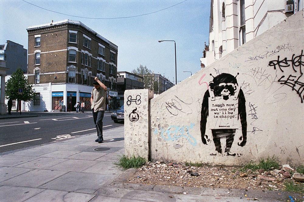 Banksy Is… Art under a Pseudonym