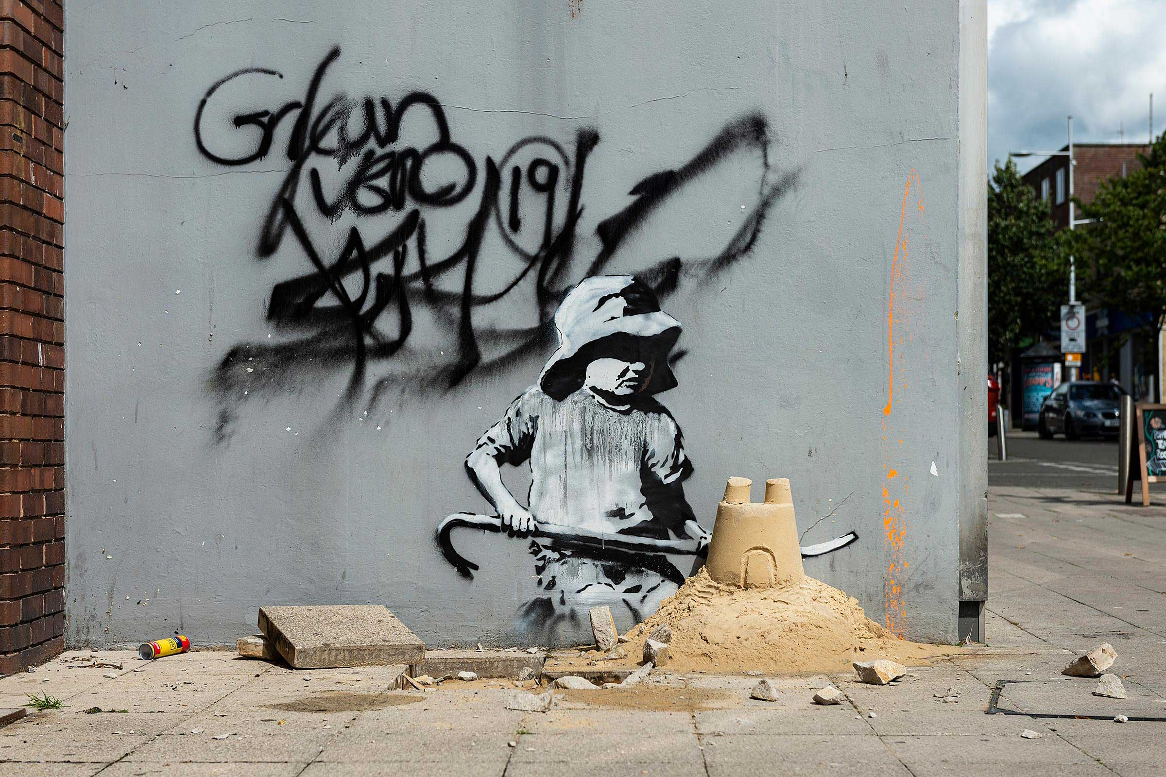 Why Is Real Banksy Just a Contemporary Myth?